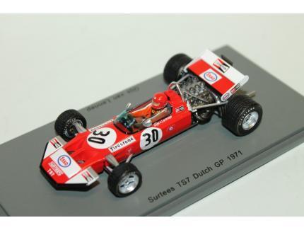 SURTEES TS7 N°30 DUTCH GP 1971 SPARK 1/43°