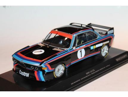 BMW 3.0 CSL N°1 WINNER NORISHING TROPHAE 1974 MINICHAMPS 1/18°