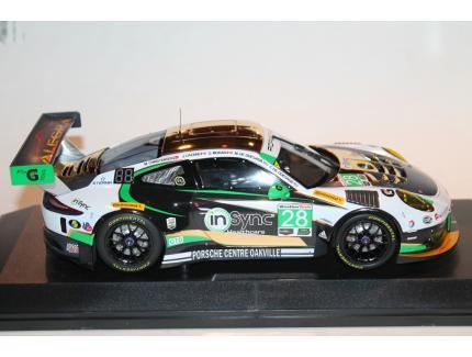 PORSCHE 911 GT3 R N°28 ALEGRA MOTORSPORTS CLASS WINNERS 24H DAYTONA 2017 MINICHAMPS 1/18°