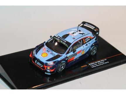 HYUNDAI I20 WRC MC2018 NEUVILLE IXO 1/43°