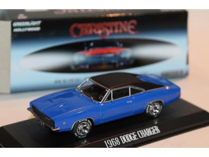 "DODGE CHARGER 1968 ""CHRISTINE"" GREENLIGHT 1/43°"