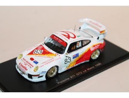 PORSCHE 911 GT2 N°83 LM1996 SPARK 1/43°