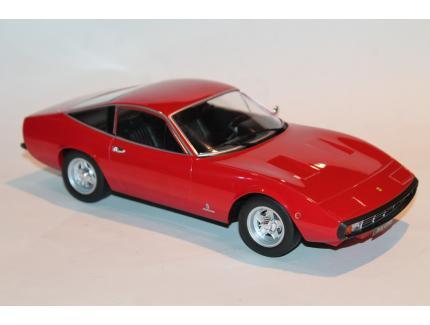 FERRARI 365 GTC4 1971 ROUGE KK SCALE 1/18°