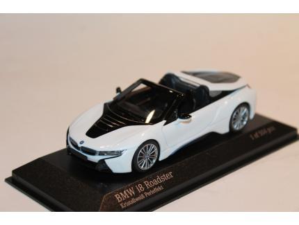 BMW I8 ROADSTER BLANCHE MINICHAMPS 1/43°