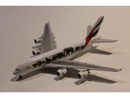 AIRBUS A380-800 EMIRATES A6-EEI 2018 HERPA 1/500°
