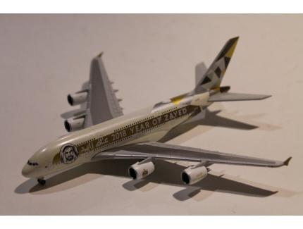 "AIRBUS A380 ETIHAD ""ZAYED"" A6-APH HERPA 1/500°"