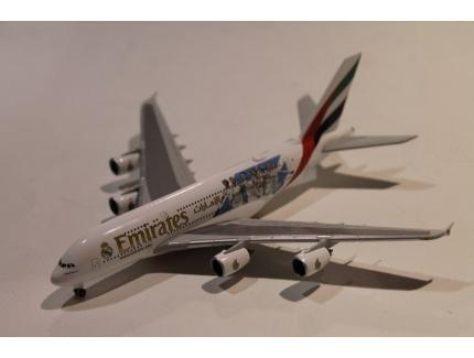 AIRBUS A380-800 EMIRATES A6-EUG HERPA 1/500°