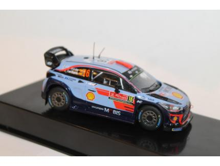 HYUNDAY i20 WRC N°16 RALLY PORTUGAL 2018 IXO 1/43°