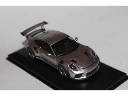 PORSCHE 911 991 GT3 RS 2018 ARGENT MINICHAMPS 1/43°