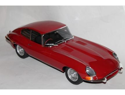 JAGUAR TYPE E COUPE 1961 ROUGE GT SPIRIT 1/12°