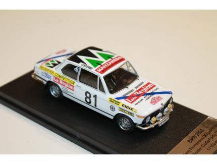 BMW 2002 N°81 RALLY MONTE CARLO 1977 TROFEU 1/43°