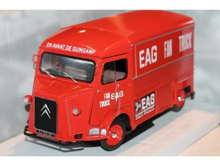 CITROEN TYPE H EAG FAN TRUCK SOLIDO 1/18°