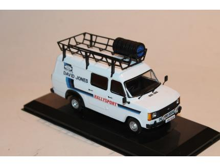 "FORD TRANSIT MKII 1979 ""DAVID JONES"" IXO 1/43°"