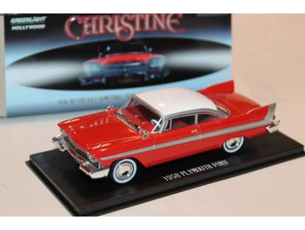 "PLYMOUTH FURY 1958 ""CHRISTINE""  GREENLIGHT 1/43°"