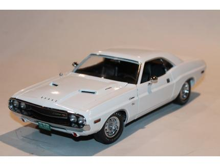 DODGE CHALLENGER R/T 1970 POINT LIMITE ZERO GREENLIGHT 1/18°