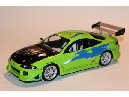 MITSUBISHI ECLIPSE FAST & FURIOUS GREENLIGHT 1/18°