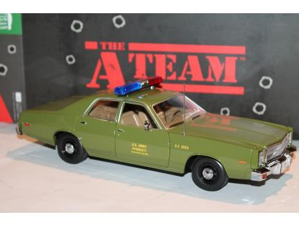 PLYMOUTH FURY 1977 AGENCE TOUS RISQUES GREENLIGHT 1/18°
