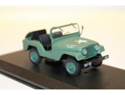 JEEP 1952 WILLYS M38 A1 MASH GREENLIGHT 1/43°