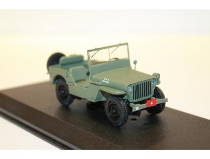 JEEP 1942 WILLYS MB MASH GREENLIGHT 1/43°