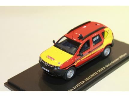 DACIA DUSTER SECURITE CIVILE ALARME 1/43°