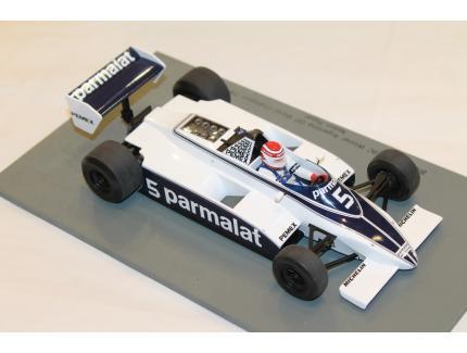 BRABHAM BT49C WINNER ARGENTINA GP 1981 WC SPARK 1/18