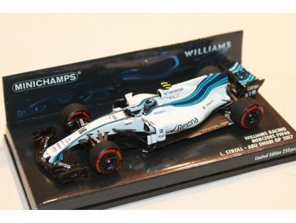 WILLIAMS RACING FW40 STROLL F1 2017 MINICHAMPS 1/43