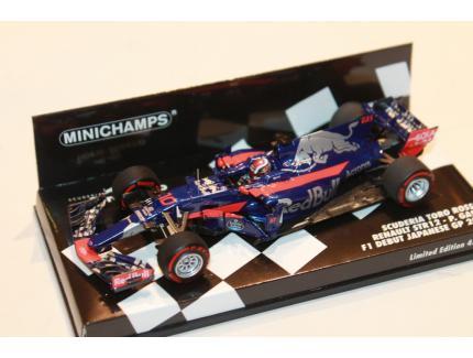 TORO ROSSO STR12 GASLY F1 2017 MINICHAMPS 1/43