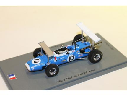 MATRA MS7 F2 WIN ALBI 1967 SPARK 1/43