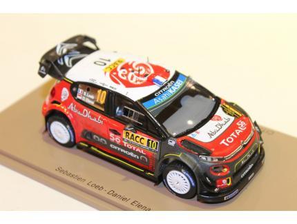 CITROEN C3 WRC WIN RALLY CATALOGNE 2018 SPARK 1/43
