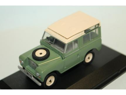 LAND ROVER SERIE IIA SWB VERT 1964 OXFORD 1/43°