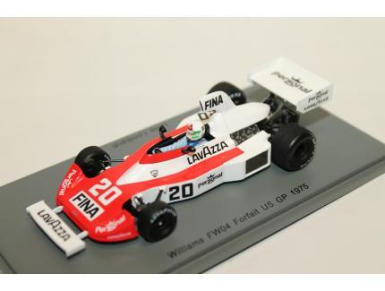 WILLIAMS FW04 FORFAIT US GP 1975 N°20 SPARK 1/43°