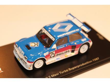 RENAULT 5 MAXI TURBO SUPERPRODUCTION 1987 SPARK 1/43°