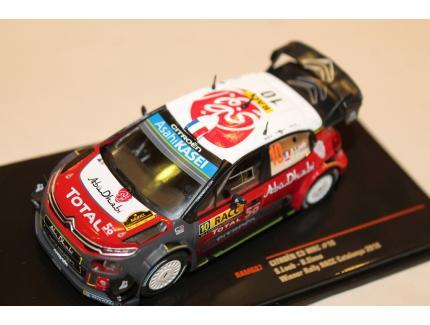 CITROEN C3 WRC N°10 WINNER RALLY RACC CATALUNYA IXO 1/43°