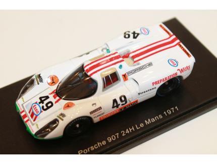 PORSCHE 907 LE MANS 1971 N°49 SPARK 1/43°