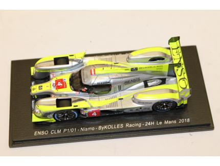 ENSO CLM P1/01 - NISMO - BYKOLLES RACING - 24H LE MANS 2018 SPARK 1/43°