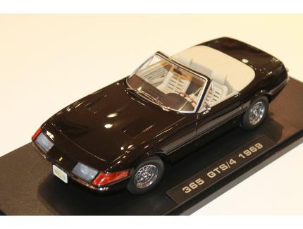 FERRARI 365 GTS/4 DAYTONA 1969 BLACK KK SCALE 1/18°