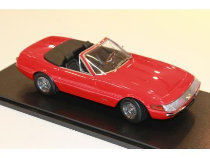 FERRARI 365 GTS/4 DAYTONA 1969 ROUGE KK SCALE 1/18°