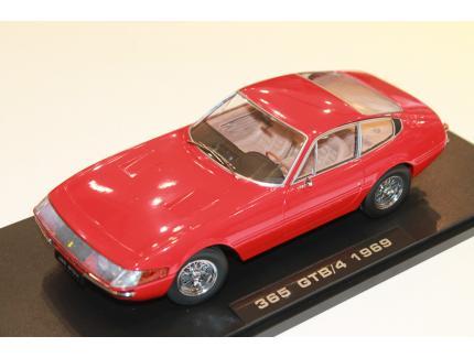 FERRARI 365 GTB/4 DAYTONA 1969 ROUGE KK SCALE 1/18°