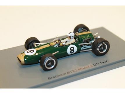 BRABHAM BT22 GP MONACO 1966 SPARK 1/43°