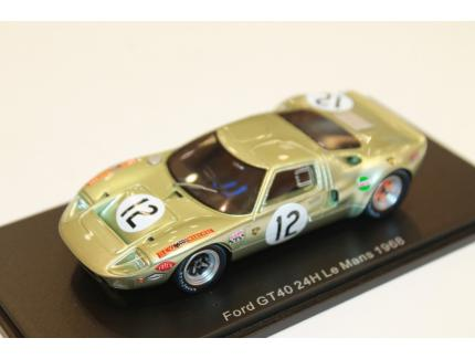 FORD GT 40 24H LM 1968 SPARK 1/43°
