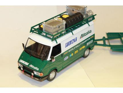 FIAT 242 - FIAT ALITALIA TEAM ASSISTANCE 1978/1979 IXO 1/18°