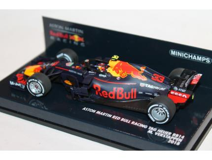 ASTON MARTIN RED BULL RACING TAG HEUER RB14 MINICHAMPS 1/43°