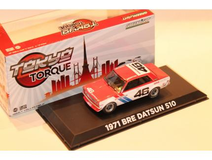 BRE DATSUN 510 1971 GREENLIGHT 1/43°