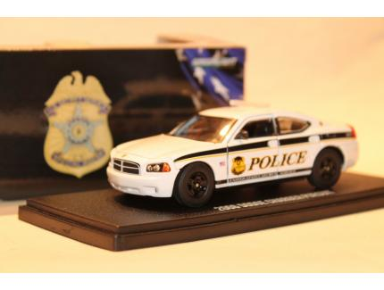 """DODGE CHARGER PURSUIT """"POLICE"""" 2006 GREENLIGHT 1/43°"""