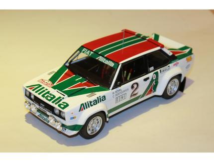 FIAT 131 ABARTH N°2 RALLYE MONTE CARLO 1978 IXO 1/18°