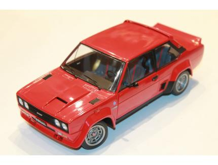 FIAT 131 ABARTH ROUGE 1980 SOLIDO 1/18°