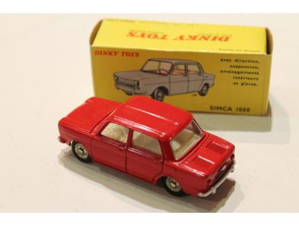 SIMCA 1000 ROUGE DINKY TOYS 1/43°