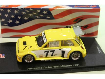 RENAULT 5 TURBO N°77 ROAD ATLANTA 1981 SPARK 1/43°