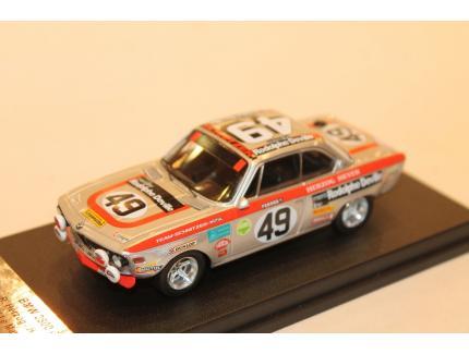 BMW 2800 CS N°49 24 HEURES DU MANS 1972 TROFEU 1/43°