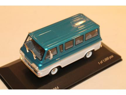 FORD ECONOLINE BLEU 1964 WHITEBOW 1/43°